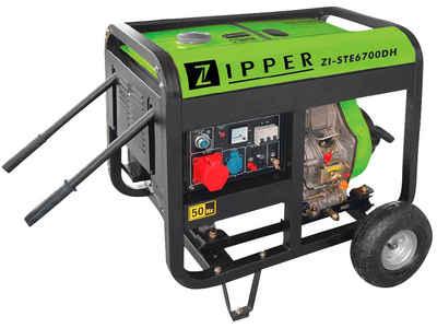 ZIPPER Stromerzeuger »ZI-STE6700DH«, 5,9 in kW