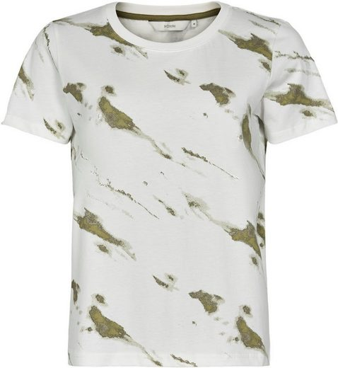 nümph T-Shirt Camoflage-Dessin