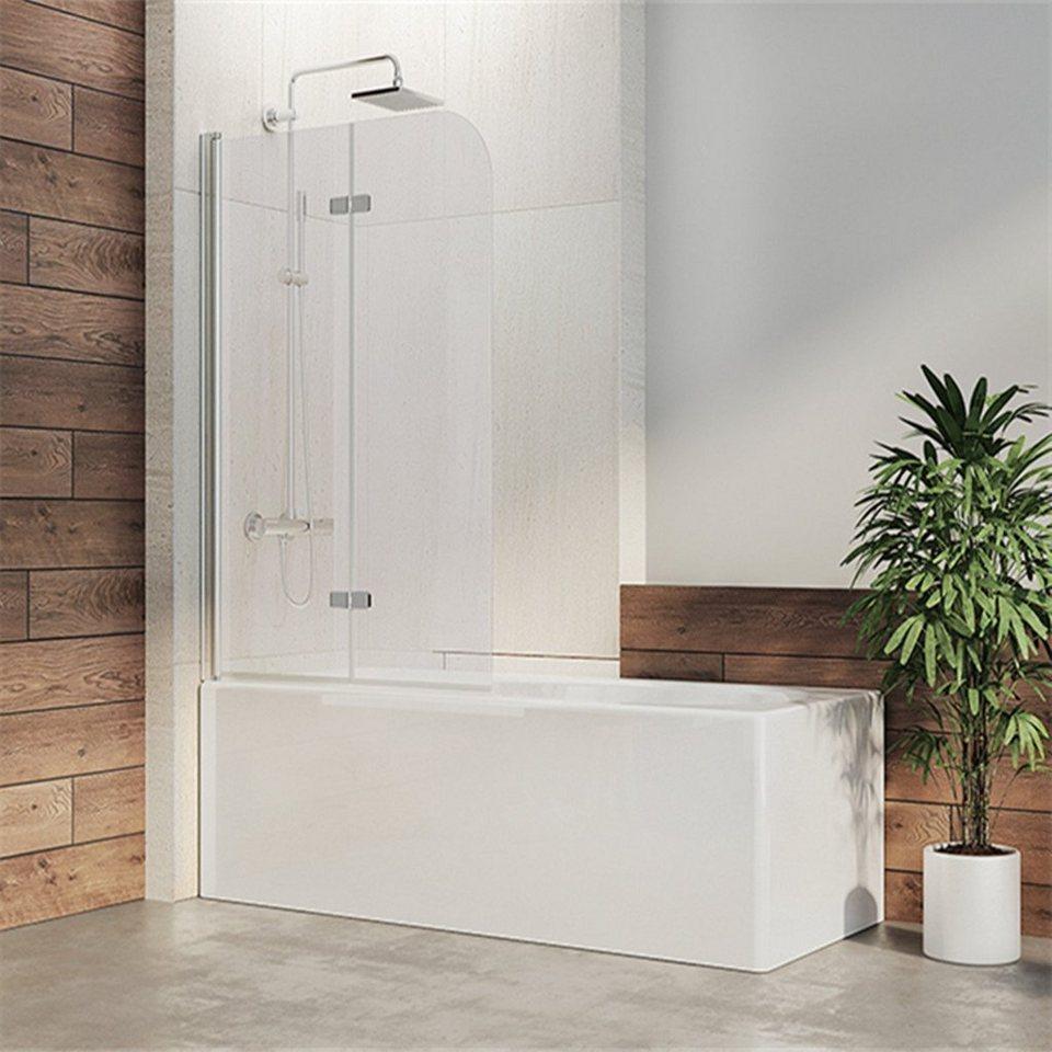 IMPTS Badewannenaufsatz, 200mm ESG Sicherheitsglas Nano Glas, Duschwand für  Badewanne 20 TLG. Faltwand Duschtrennwand online kaufen   OTTO