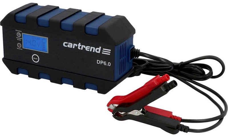 Cartrend »Microprozessor Ladegerät DP 6.0« Autobatterie-Ladegerät (Packung, Ausgangsstrom 6)