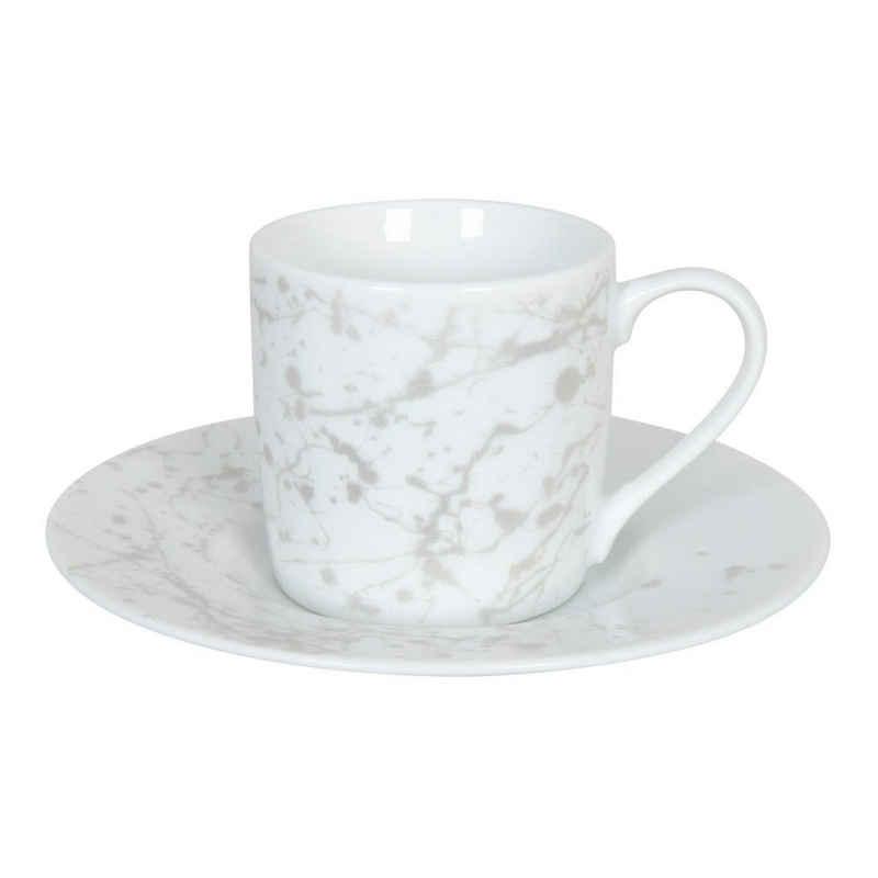 Könitz Espressotasse »Silver Splash«, Porzellan