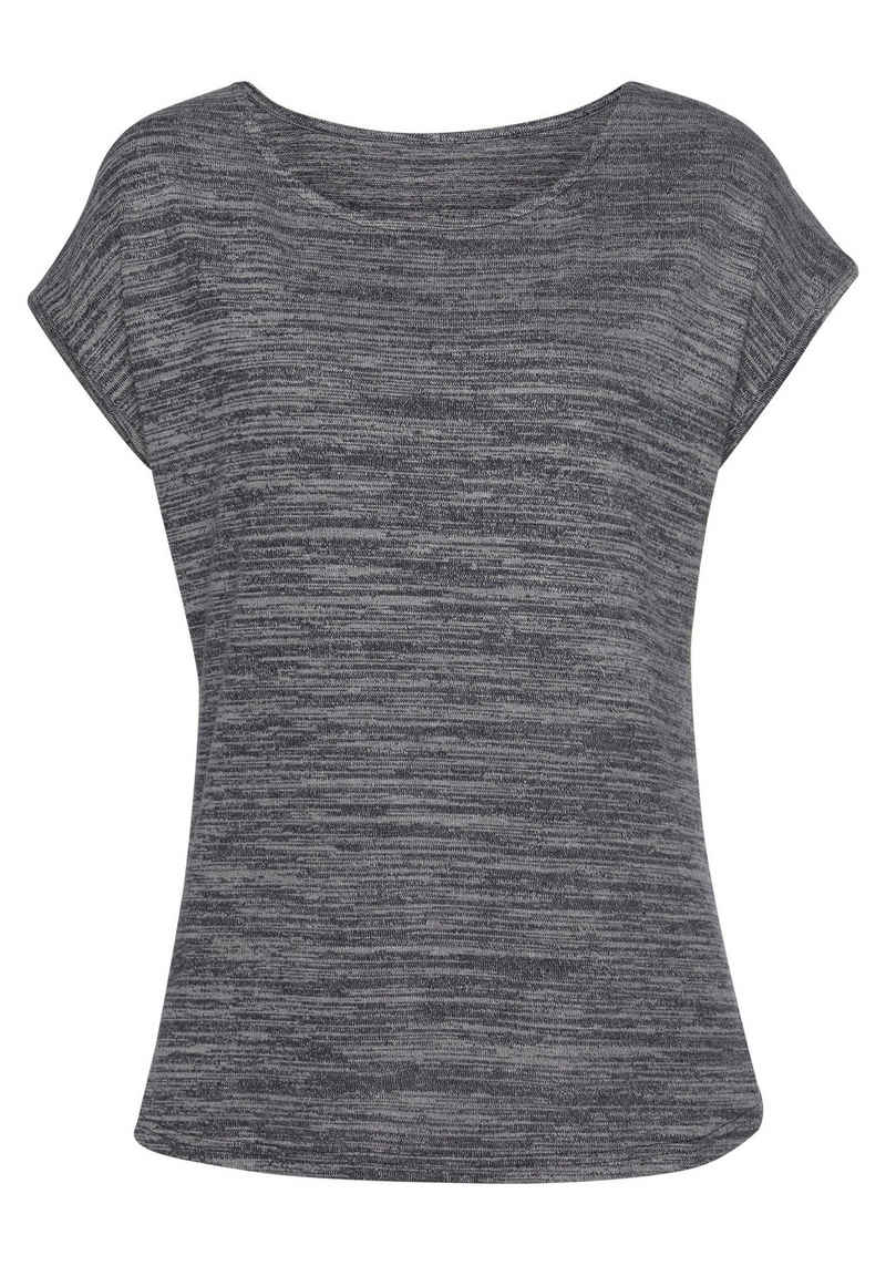 Vivance T-Shirt aus leichter Strickqualität