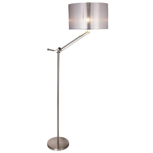 lux.pro Stehlampe, »Skövde« Stehleuchte Design Standlampe höhenverstellbar