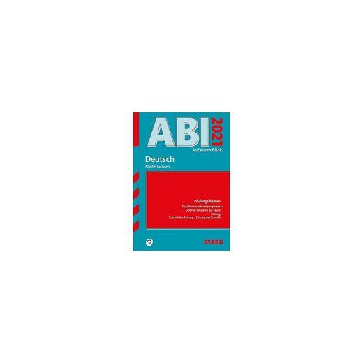 Stark Verlag STARK Abi - auf einen Blick! Deutsch Niedersachsen 2021