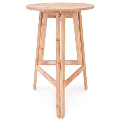 Deuba Stehtisch (1-St), Bistrotisch 78x111cm • robuste, massive Konstruktion • platzsparend zusammenklappbar • optimale Tischhöhe
