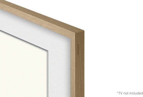 "Samsung Rahmen »65"" Frame Rahmen Modern Teak (2021)«"
