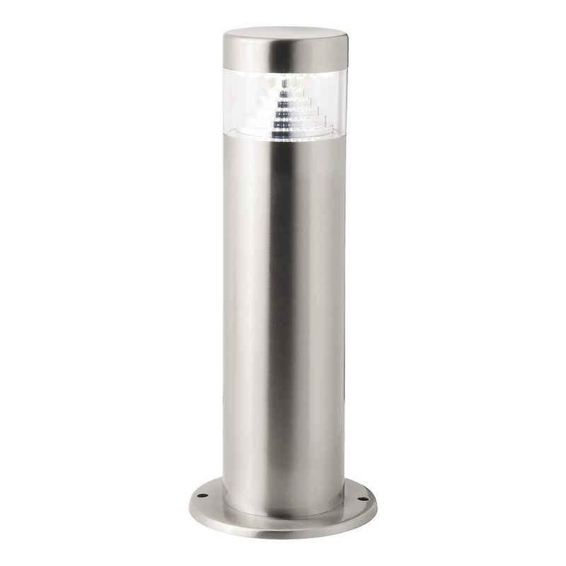 Brilliant Leuchten Sockelleuchte »Avon«, LED Außensockellampe 30cm edelstahl