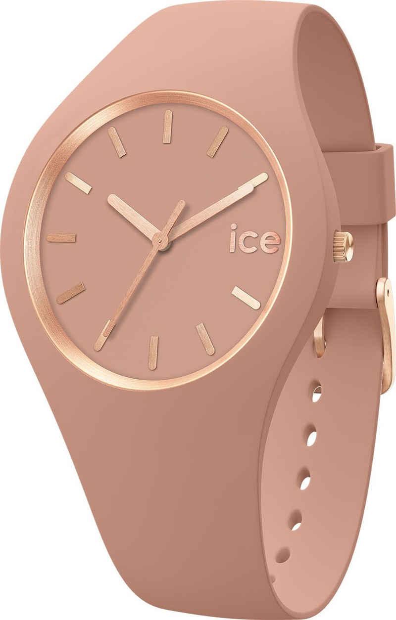 ice-watch Quarzuhr »ICE glam brushed - Clay - Medium - 3H, 19530«