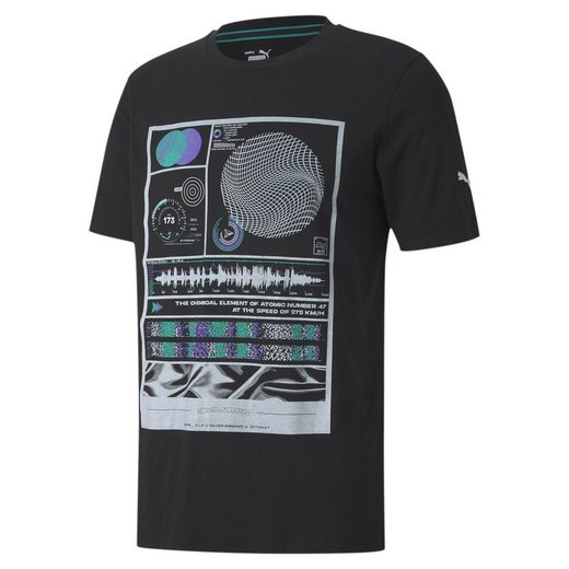 PUMA T-Shirt »Mercedes Herren T-Shirt mit Grafik«