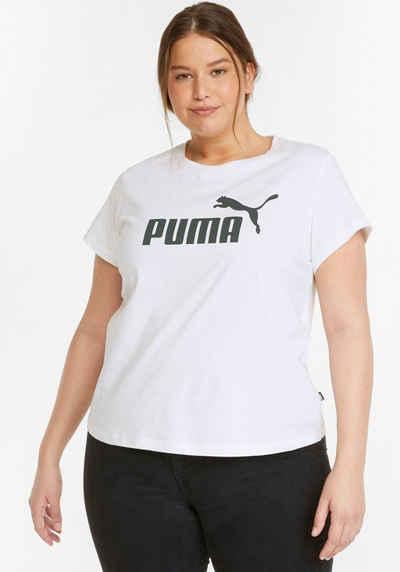 PUMA T-Shirt »ESS Logo Tee PLUS«