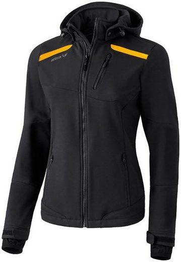 Erima Trainingsjacke Damen Softshell Jacke Regenjacke Sportjacke Sport Freizeit Outdoor