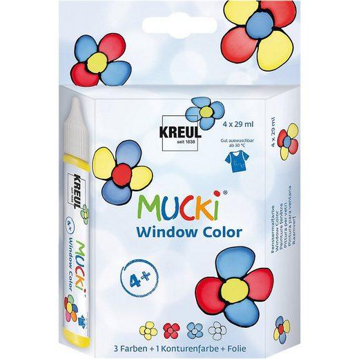 Fenstersticker »Mucki Window Color 4er-Set«, C. KREUL