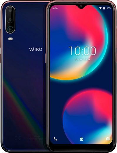 WIKO VIEW4 Smartphone (16,5 cm/6,52 Zoll, 64 GB Speicherplatz, 13 MP Kamera)