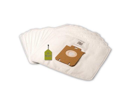 eVendix Staubsaugerbeutel Staubsaugerbeutel kompatibel mit AEG VX4-1-WR-A, 10 Staubbeutel + 1 Mikro-Filter ähnlich wie Original AEG Staubsaugerbeutel Größe 200, 201, 203, 205, 206,210, s-bag, passend für AEG