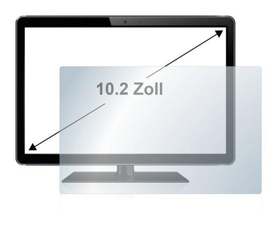 upscreen Schutzfolie »für 25.9 cm (10.2 Zoll) 222.5 x 131 mm«, Folie Schutzfolie matt entspiegelt
