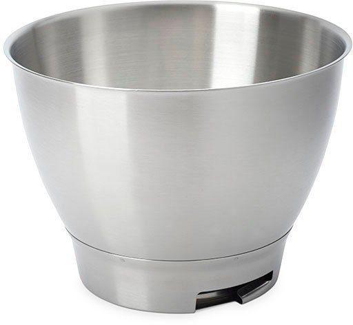 KENWOOD Küchenmaschinenschüssel »Chef Edelstahl-Rührschüssel KAT300SS«, Edelstahl, Geeignet für alle Chef Küchenmaschinen der KVC3000 Serie