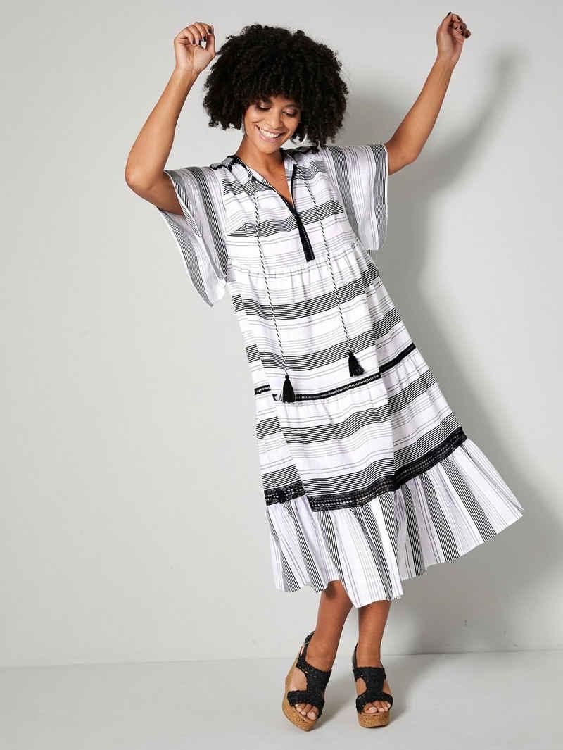 Angel of Style Sommerkleid mit Häkelspitzendetails