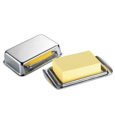 Neuetischkultur Butterdose »Butterdose Länge 16,1 cm«, Edelstahl, (1-tlg)