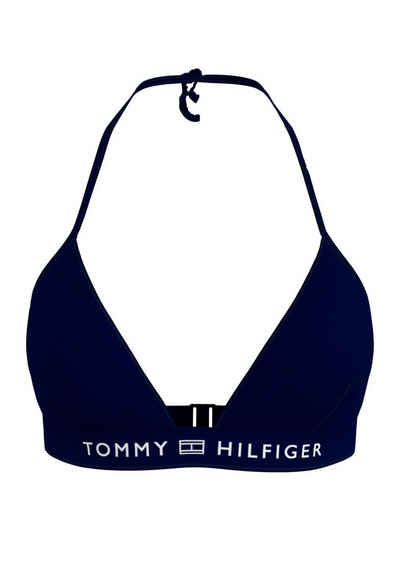 Tommy Hilfiger Triangel-Bikini-Top, mit Logoband