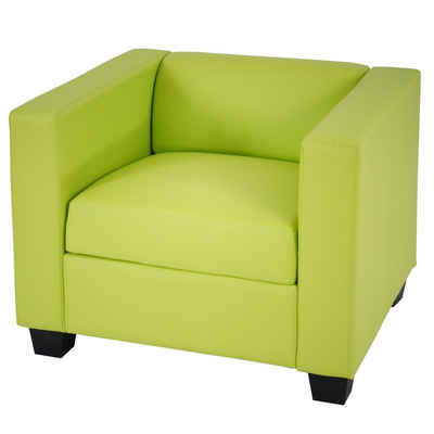 MCW Sessel »Lille«, Bequeme Sitzpolsterung, moderner Lounge-Stil, Kunststofffüße, Hohe Standfestigkeit