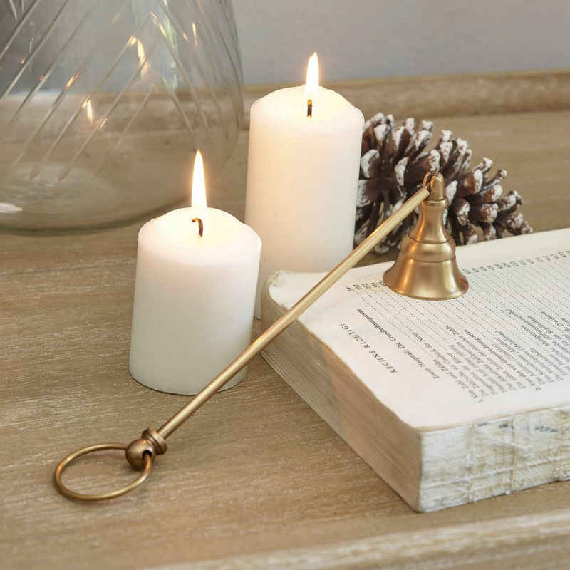 Mirabeau Windlicht »Kerzenlöscher Perret antikmessing«