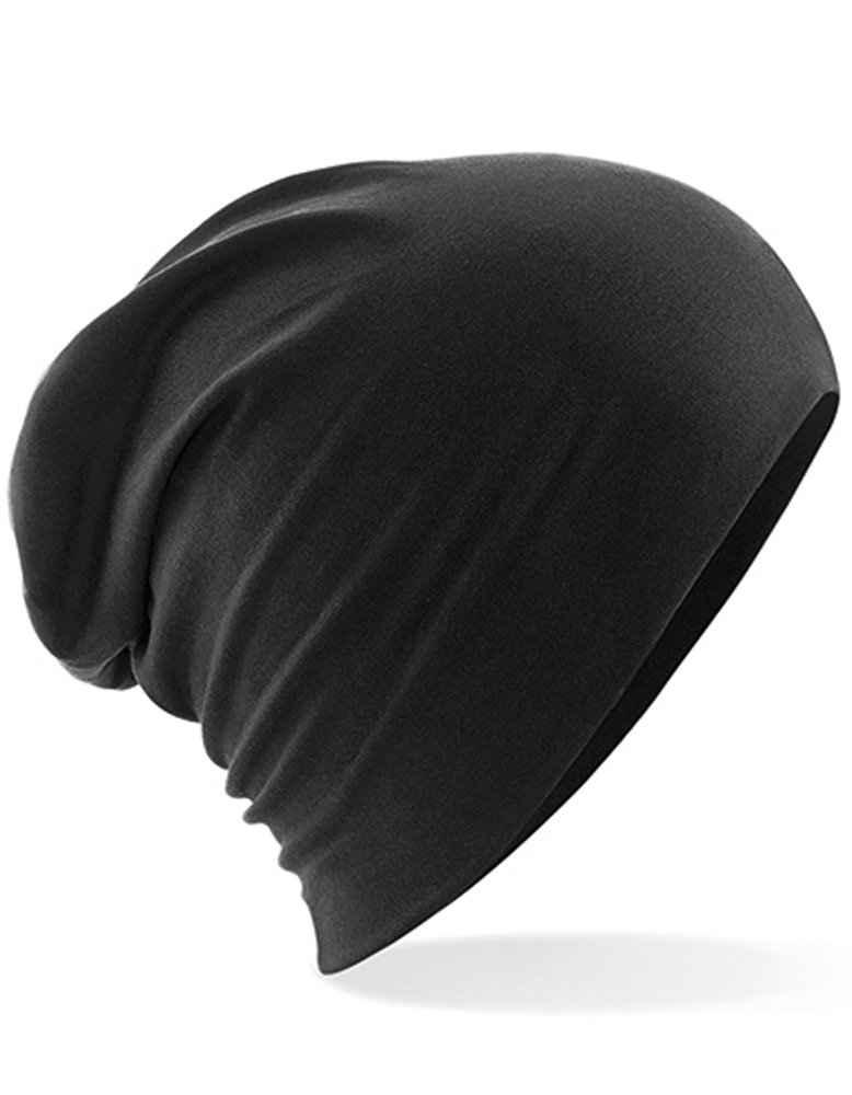 Goodman Design Beanie »Baumwoll Slouch Beanie« Dichtes Baumwoll-Mikrostrick