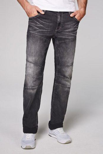 CAMP DAVID Regular-fit-Jeans mit tief sitzenden Gesäßtaschen
