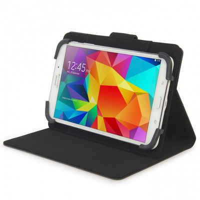 Tucano Tablet-Hülle »Tucano Uncino Universal - Foliocase Schutzhülle für 7 bis 8 Zoll Tablets mit variabler Stand- und Drehfunktion - schwarz - TAB-U78«