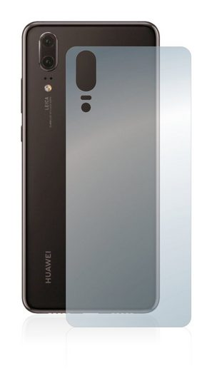 BROTECT Schutzfolie »Panzerglasfolie für Huawei P20 (Rückseite)«, Schutzglas Glasfolie klar