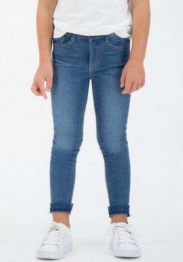 Garcia Stretch-Jeans »590 Sanna« mit aufgetrenntem Saum