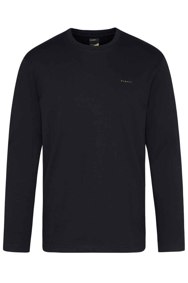bugatti Sweatshirt aus reiner Baumwolle