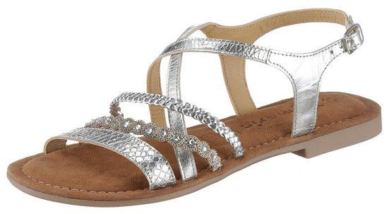 Tamaris »Minu« Sandale mit zarten Riemchen