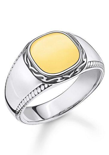THOMAS SABO Fingerring »Tiger Muster gold, TR2292-966-39-52, 54, 56, 58, 60, 62, 64, 66, 68«