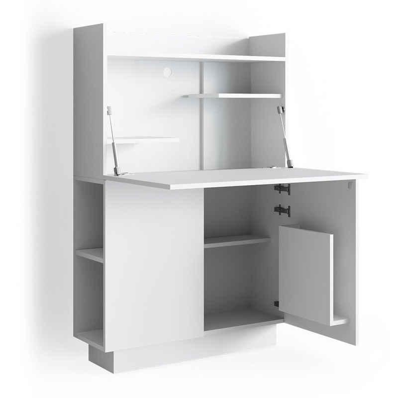 Vicco Regal-Schreibtisch »Schreibtisch-Schrank Alena Büroschrank Aktenschrank Computertisch Sekretär«