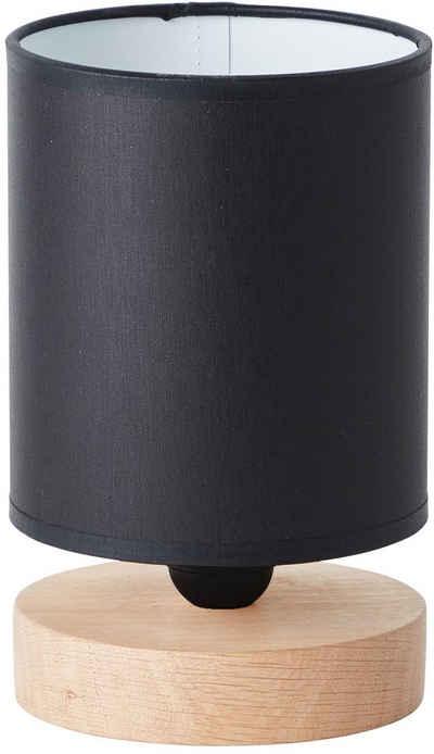 Brilliant Leuchten Tischleuchte »Vonnie«, 1 x E27, 25W, schwarz/holzfarbend