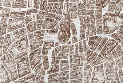 Architects Paper Fototapete »Atelier 47 Ancient City View 3«, glatt, Stadt, (4 St)