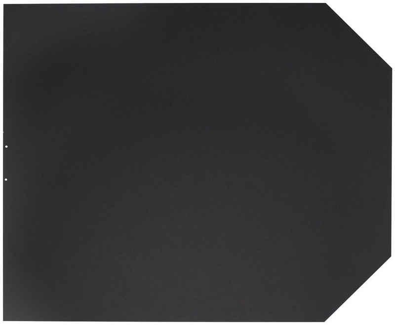 JUSTUS Bodenschutzplatte »B2«, 100x120 cm, schwarz, zum Funkenschutz