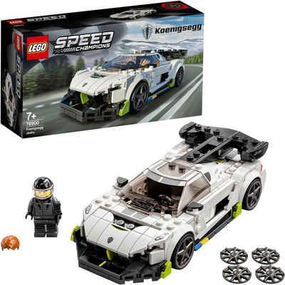 LEGO® Konstruktionsspielsteine »Koenigsegg Jesko (76900), LEGO® Speed Champions«, (280 St)