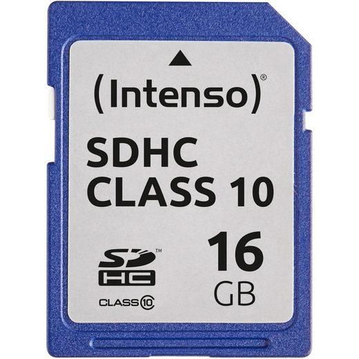 Intenso »Secure Digital SDHC Card 16 GB, Class 10« Speicherkarte