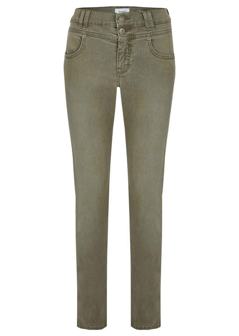 ANGELS Skinny-fit-Jeans »Skinny Button« (1-tlg)