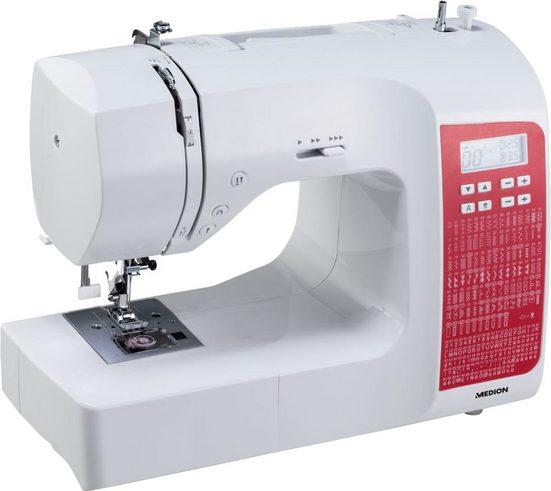 Medion® Computer-Nähmaschine MD 18080, Freiarm- Funktion
