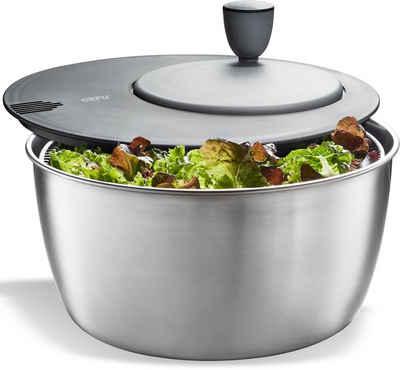 GEFU Gemüsepresse ROTARE, Edelstahl, Kunststoff, einfacher Kurbelantrieb, 3 Liter