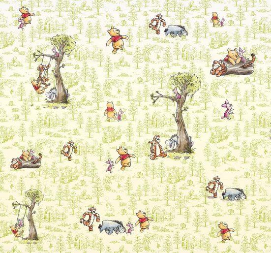 Komar Fototapete »Winnie Pooh Friends«, glatt, mehrfarbig, Comic, (Packung)