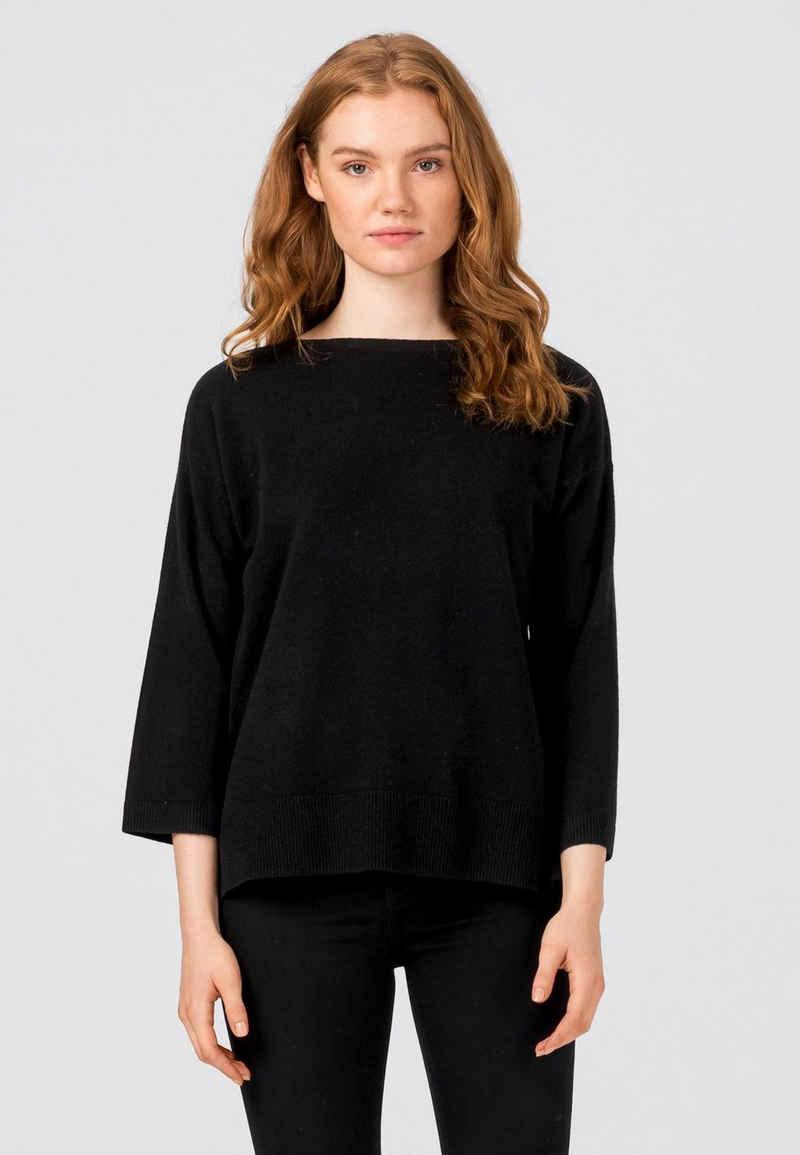 HALLHUBER Oversize-Shirt »aus edler Merino-Kaschmirqualitä«