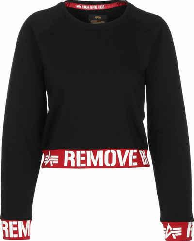 Alpha Industries Sweatshirt »RBF Cropped W«