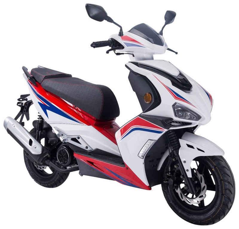 GT UNION Motorroller »Striker«, 125 ccm, 85 km/h, Euro 5