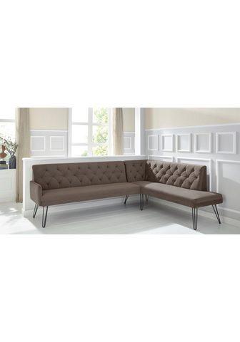exxpo - sofa fashion Eckbank »Doppio«
