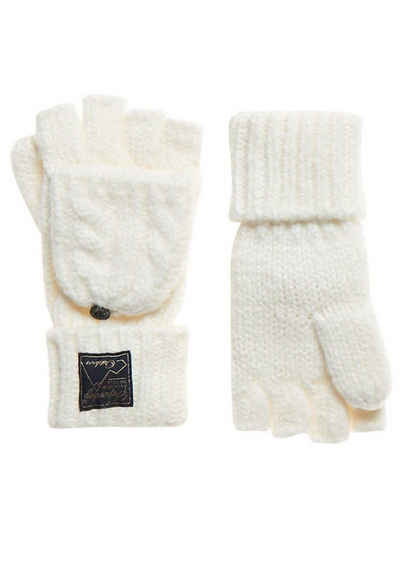 Superdry Strickhandschuhe »TWEED CABLE GLOVE«