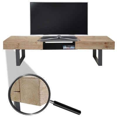 MCW TV-Rack »MCW-A15-T«, Standfeste Konstruktion, Inklusive Fußbodenschoner