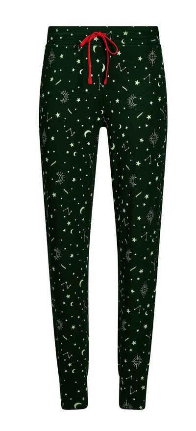 Skiny Pyjamahose »Skiny Damen Schlafanzug Hose« (1-tlg) Modisches Design